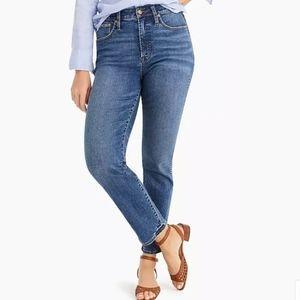 J Crew Tall Curvy Vintage Straight Jeans 31T
